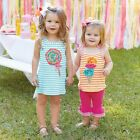 Mud Pie  Baby Toddler Lollipop Play Dress Girls 9M-5T #1142208