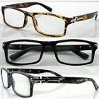 L154 Spectacle/Reading Glasses/Unisex/Elegant Design/Classic Style/Metail Detail