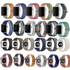 Nylon/Silicone/Leather Loop/Milanese Magnetic Strap Band for Apple Watch iWatch