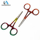 Maxcatch Fly Fishing Scissor Rainbow/Brown Forceps Pliers & Hook Removers 5.1''
