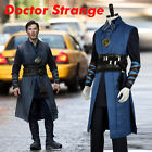 Dr Doctor Strange Battle Cosplay Costume With Eye of Agamotto Without Cape