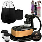 Aura Allure Spray Tan Machine Kit with Tanning Solution and Tent