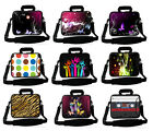 "Neoprene 15""17"" Laptop Handle Bag Shoulder Pouch Notebook Carry Case For Acer HP"