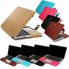 "Laptop PU Leather Book Back Case for MacBook Air Pro 11"" 13"" 15""-Realease 2016"