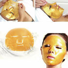 Premiun Collagen Bio Anti Ageing Wrink Moisture Care Crystal Gold Face Mask Lips
