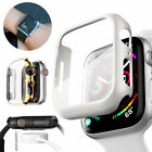 Lot For Apple Watch Series 3/2/1 Body Cover Snap On Case Cover +Screen Protector