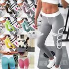 Damen Sporthose Leggings Hose Training Laufhose Fitnesshose Yoga Gym Jogging RJT