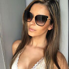 Large Retro VINTAGE Square Cat Eye Aviator Fashion Oversized Women Sunglasses