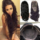 Human Hair Full Lace Wigs Real Soft Brazilian Virgin Long Hair Lace Front Wigs