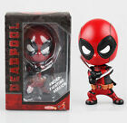 Marvel Hot Toys Deadpool Cosbaby Sword Fighting Version Bobble-Head Figure 4""