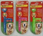 Bamboo Care Quad Brush ~ Ultimate Pet Toothbrush For Large Dogs