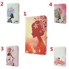 Diamond Jewel Flower Spirit Magnet Leather Stand Case Cover Skin For Apple iPad