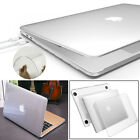 Clear Crystal Snap-On Case fr Macbook Pro Retina Air 11 13 15 With/out Touch Bar