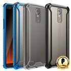 LG Stylo 3 Poetic [Affinity Series] Case Dual Material Protective Bumper Cover