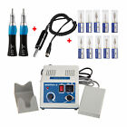 Dental Micro Motor Electric Motor 35K rpm with Straight Handpiece + Drills DSX