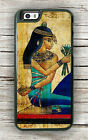 EGYPTIAN PRINCESS MURAL CASE FOR iPHONE 7 or 7 PLUS -plm9Z