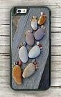 FEET PEBBLES NATURAL COLORED CASE FOR iPHONE 7 or 7 PLUS -kda2Z