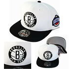 Mitchell & Ness NBA Brooklyn Nets Fitted Hat Eastern Conference Side Patch Cap on eBay
