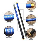 High Quality Light Carbon Fiber Telescopic Fishing Rods Fishing Poles 4.5-7.2m