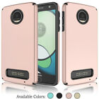 For Motorola Moto Z Play Droid Case Hybrid Shockproof Armor Hard Phone Cover