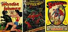 Marvel DC Comic Assorted NOTEBOOK A4  -Wonder Woman - SpiderMan - Superman - WH3