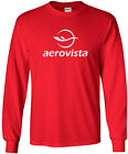 Aerovista Retro Logo Emirati Airline Long-Sleeve T-Shirt