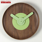 """GEEKCOOK Creative Wooden Wall Clock  Simple Japanese Style Watch Silence 12.5"""""""