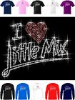 Little Mix T Shirt with 676 Sparkling Rhinestones Glory days 2017