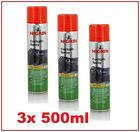 3x 500ml NIGRIN Cockpitspray , Vanille oder Neutral Cockpit Spray NEU WOW