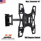 TV Wall Mount Articulating Bracket LED LCD Swivel Tilt 32 39 40 42 43 48 49 50""