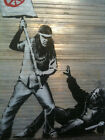 Banksy Protesters Peace Art Poster A4 A3 A2 A1 Gift Present OC0153