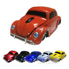 Volkswagen Beetle Car 2.4GHz Wireless Optical Mouse Laptop PC Mice USB Receiver