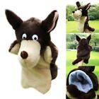 Story Learning Baby Kid Children Zoo Plush Toy Cute Wolf Hand Glove Puppets Gift