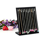 chain holder - Velvet Jewelry Necklace Chain Jewelry Display Holder Stand Easel Organizer Rack
