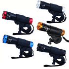 Bike Handlebar Bicycle Cycling  LED Head Light Torch Zoomable Flashlight + Mount