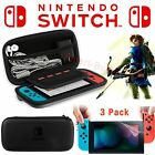 For Nintendo Switch Travel Carrying Case Bag+ Clear Screen Protector Film
