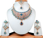 Gorgeous Gems Stone Sparkly Gold Tone Princess Jewelry Earrings Sets