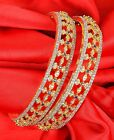 Indian Bollywood Beauty Diamontic Bangles Bracelets Fashion Jewelry 335