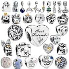 Wholesale Enamel European Beads Silver Charms For 925 Sterling Bracelet Bangle image
