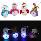 Christmas Gift LED Snowman Night Light Home Ornaments Xmas Tree Hanging Decor