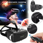VR Case Virtual Reality 3D Glasses Headset+Controller For Smart Mobile Cellphone