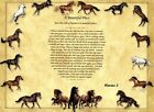 """""""A Beautiful Place"""" Memorial Poem for Horses Ready to Frame Art Print"""