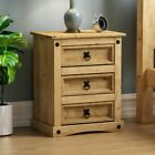 Corona Panama Chest Of Drawers Bedside Bedroom Mexican Solid Pine Furniture <br/> ORDER BY 2PM FOR NEXT DAY DELIVERY-CHEAPEST ON EBAY