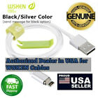 1m/ 2m WSKEN Mini 2 Magnetic Adapter 8Pin & Micro USB  Cable For iPhone/Samsung