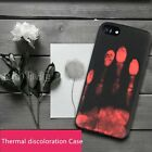 Fashion Temperature Warm Senso Thermal Discoloration Case Cover iPhone6 6S 7Plus