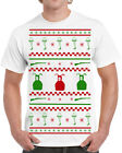 397 Christmas Story Ugly Sweater mens T-shirt funny fragile shoot your eye out