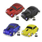 2.4Ghz  VW Beetle Car Wireless Mouse Optical Mice For Laptop PC Mac USB Receiver