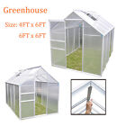Panana Clear Polycarbonate Greenhouse Aluminium GrowHouse Clip with Base 2 sizes