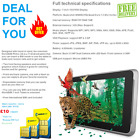 """UNLOCKED 7"""" ANDROID TABLET WIFI 3G / Samsung 8GB SD / Cheap Basic SMARTPHONE"""