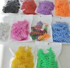 100 PC Lot thick FISHBONES cable winder wrap FOR headphones earbud earphone cord